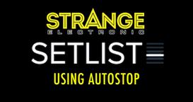 Setlist by Strange Electronic - Autostop