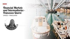 Financial Markets and Intermediaries -Francesca Querci