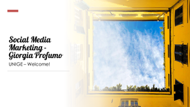 Social Media Marketing - Giorgia Profumo