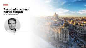 Industrial economics- Patrice Bougette