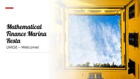 Mathematical Finance - Marina Resta