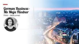 German Business - Ms Maja Fliedner