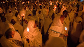 Ethiopian Candle-lit Procession with Apex Expeditions
