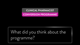 Would Pharmacists recommend our Clinical Pharmacist Conversion Programme to others?