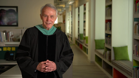 David Beckmann Honorary Doctorate from the College of Holy Cross