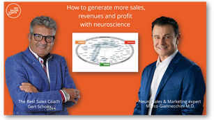 Generate more sales, revenues and profit with neuroscience