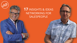 17 networking ideas for sales people