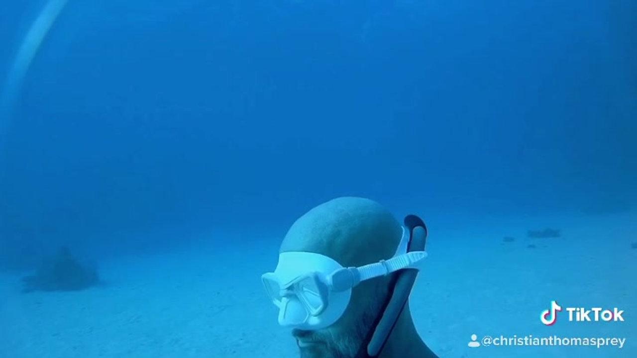Meditation im Roten Meer