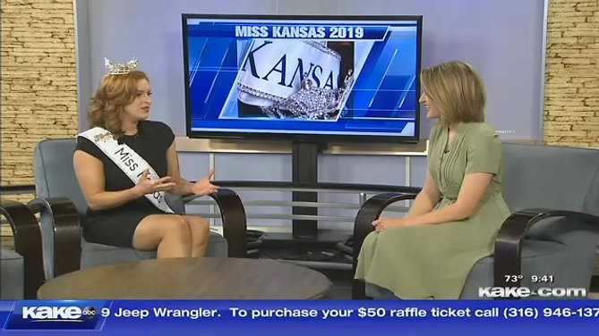 KAKENews: Newly crowned Miss Kansas Annika Wooton shares plans for year