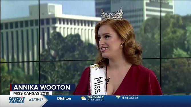 KWCH Newstalk: Miss Kansas 2019, Annika Wooton