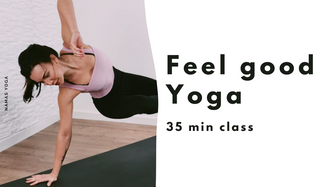 Feel Good Yoga class