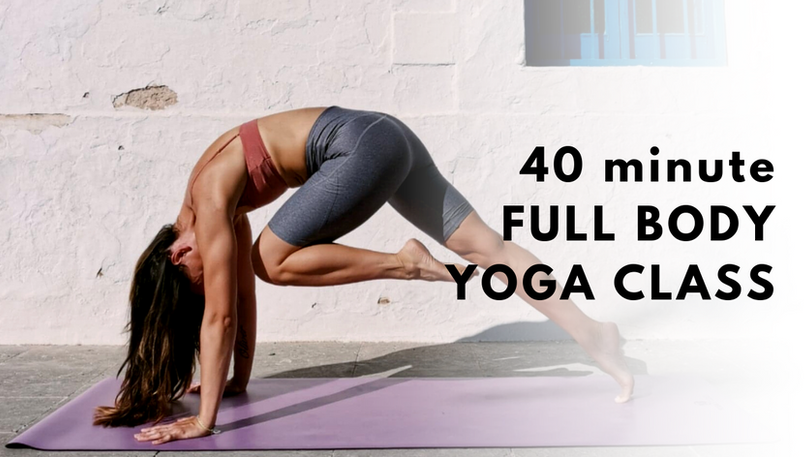 Full Body Yoga Online Classes Subscription