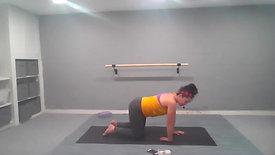 Power Pilates + Candlelit Stretch 45 Mins