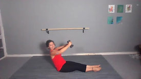 Power Pilates + Candlelit Restorative Meditation 45 Mins