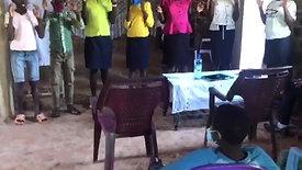Childrens Choir in Oyengwa