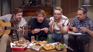 hungryhouse 'Love Takeaway'Campaign Hype Reel