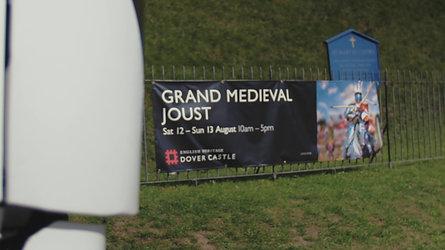Dover Castle Jousting Teaser