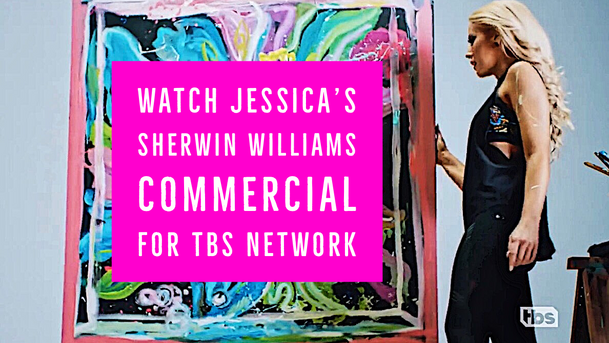 TBS SherwinWilliams Commercial with First Female Speedpainter Jessica Haas