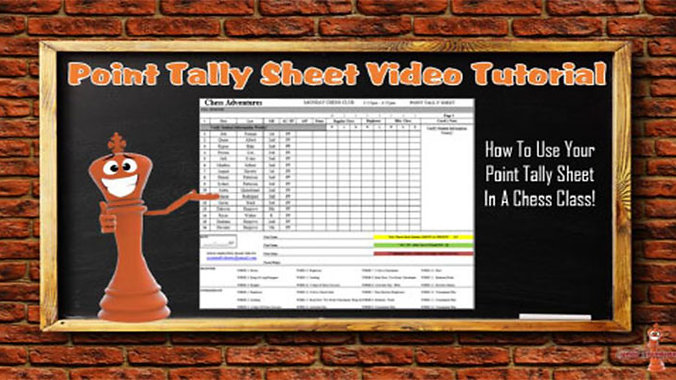 Point Tally Sheet Instructional Video