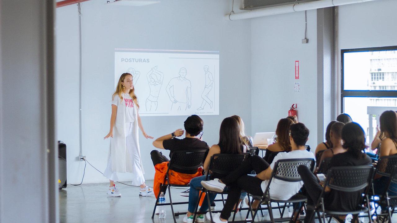 Workshop Modelaje Internacional