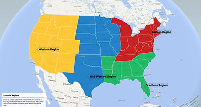 3-D Maps: Easy Forecast