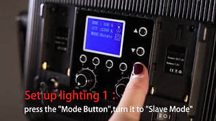 GVM 520S-B Bi-Color LED Studio Video Light Panel - AV CARIBBEAN