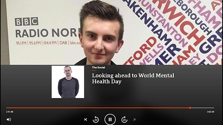 BBC RADIO NORFOLK INTERVIEW HIGHLIGHTS