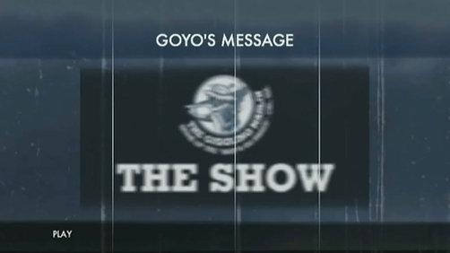 GOYO'S MESSAGE