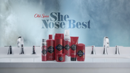 'Puzzled'  Old Spice