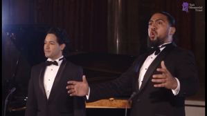Benson Wilson and Filipe Manu sing 'Au fond du temple saint' from The Pearl Fishers