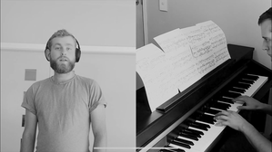 Songs from Lockdown: Harry Grigg sings 'Go, Lovely Rose' with pianist, David Kelly
