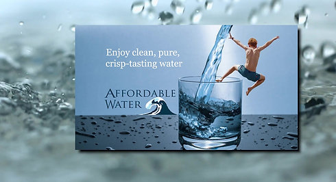 Affordable Water - Reverse Osmosis
