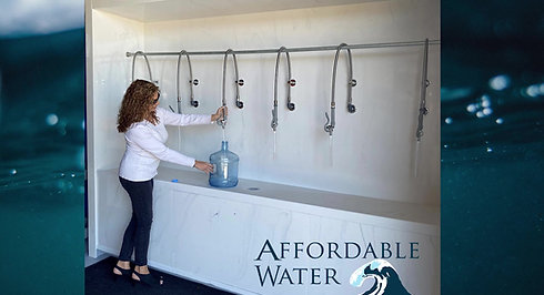 Affordable Water Filling Station