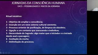 11- Aula de 12 de novembro - A Jornada da Consciência Humana – primeira metade da vida