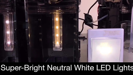 Super-Brigth NEUTRAL White LED Lights - video (41)