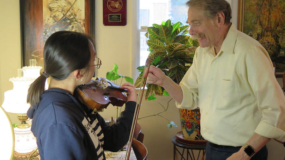 Violin Lessons with Ralph Boehm