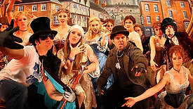 """""""Bustle Fluffah"""" Music Video w- the Cast of Roundabout Theatre Company's THE MYSTERY OF EDWIN DROOD"""