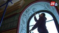 Храм Афанасия и Феодосия Череповецких расписывают московские художники