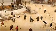 'Paysage d'hiver', Bruegel l'Ancien, peinture à huile sur toile