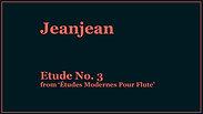 Jeanjean | Etude No. 3
