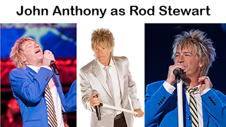 John Anthony as Rod Stewart