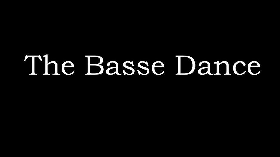 The Basse Dance