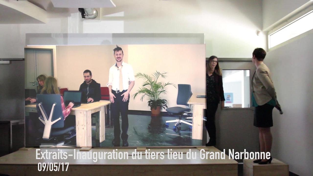 Extrait : Vidéo interactive - Inauguration du Fablab du Grand Narbonne - Mai 2017