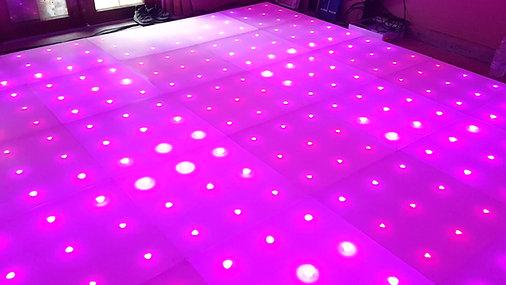 Magic Carpet RGB colour changing dancefloor