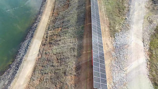 Redei's innovative project for North East Water using Solar Panels to supply power to the pumping station supplying water to the entire town in Yackandandah.