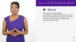 So, Really, What Is A Brand?! Exhale Lesson