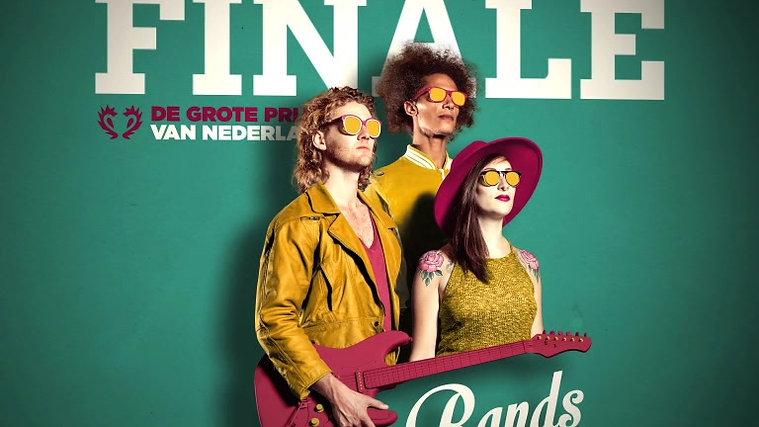 Finale bands Grote Prijs 2015