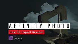 Affinity Photo | How To Import Brushes