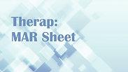 Recording Meds on the MAR Sheet