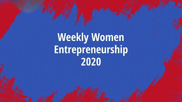 Carpe Art Women Entrepreneurship Week 2020